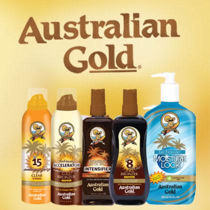 Tan-Go Australian Gold zonnebankcrème en zonnebrand crème