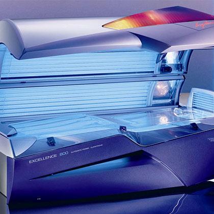 Tan-Go Suncenter, Ergoline Zonnebanken Excellence 800